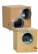 CICHY WENTYLATOR RADIALNY, BOX MDF, 60x60xh64cm, 490W, fi-355/2x255mm, 2500m3/h, 900rpm