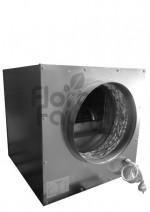 CICHY WENTYLATOR RADIALNY, STALOWY SOFTBOX, 750m3/h, fi200+200mm, 35x35xh35cm, 180W, 2800rpm