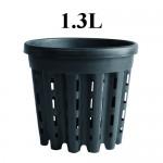 DONICZKA OKRĄGŁA, KOSZYK, AIR POT, 1.3L, fi>14cm, fi<13cm x h16cm, SUPER ROOT