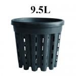 DONICZKA OKRĄGŁA, KOSZYK, AIR POT, 9.5L, fi>28.5cm, fi<26.5cm x h24cm, SUPER ROOT