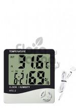 Elektroniczna stacja pogody z kablem + pomiar wilgotności