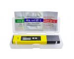 ELEKTRONICZNY MIERNIK 2w1( pH + TEMP.) DO PŁYNU, 0,01-14,00pH, 0-60st.C