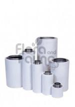 FILTR WĘGLOWY ECONOMY, PRZYŁĄCZE fi-250mm, 1300-2200m3/h, L75/W30cm, 16,8kg