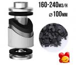 FILTR WĘGLOWY PRO-ECO VF, fi100mm, 130-170m3/h, h15cm, 1,35kg