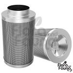 FILTR WĘGLOWY PRO-ECO VF, fi100mm, 160-240m3/h, h20cm, 1,6kg