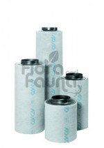 FILTR WĘGLOWY STALOWY, PRZYŁĄCZE fi-160mm, 425-470 m3/h, CAN-LITE, L60/W20cm