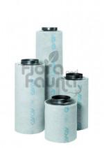 FILTR WĘGLOWY STALOWY, PRZYŁĄCZE fi-200mm, 1000-1100m3/h, CAN-LITE, L50/W30cm