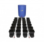 KOMPLETNY SYSTEM AUTOPOT (1POT), 24 DONICZKI 15L + ZBIORNIK FLEXITANK 400L + AKCESORIA