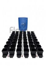 KOMPLETNY SYSTEM AUTOPOT (1POT), 48 DONICZEK 15L + ZBIORNIK FLEXITANK 400L + AKCESORIA