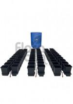 KOMPLETNY SYSTEM AUTOPOT (1POT), 60 DONICZEK 15L + ZBIORNIK FLEXITANK 400L + AKCESORIA