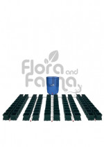 KOMPLETNY SYSTEM AUTOPOT (EASY2GROW), 100 DONICZEK 15L + ZBIORNIK FLEXITANK 750L + AKCESORIA