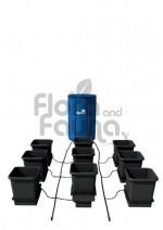 KOMPLETNY SYSTEM AUTOPOT (XL SYSTEM), 9 DONICZEK 25L + ZBIORNIK FLEXITANK 100L + AKCESORIA