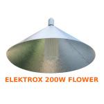 """LAMPA CFL ZESTAW 200W, ENERGOOSZCZĘDNY, ELEKTROX FLOWER (kwitnienie) + ODBŁYŚNIK PIONOWY """"PARAF"""