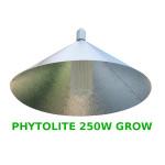 """LAMPA CFL ZESTAW 250W, ENERGOOSZCZĘDNY, PHYTOLITE GROW (wzrost) + ODBŁYŚNIK PIONOWY """"PARAFLECTO"""