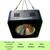 LAMPA LED ADVANCED-STAR, FULL CYCLE, 100W, 18x18xh8cm, (dual = wzrost+kwitnienie)