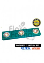LAMPA LED, CLOROFILLA 250W, LED CREE CXB3070 COB + LED Osram SSL80, do uprawy roślin PRO