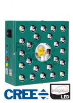 LAMPA LED - LINFA CREE 100, PHYTOLITE, FULL CYCLE, 100W, 20x20x7,5cm, oświetla 60x60cm, LED CREE CXA