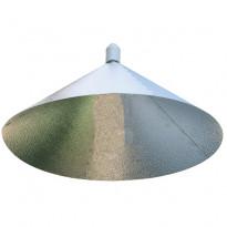 ODBŁYŚNIK PIONOWY DEDYKOWANY DO LAMP CFL -PARAFLECTOR + GNIAZDO CERAMICZNE E40