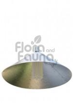 """ODBŁYŚNIK PIONOWY """"PARAFLECTOR"""", DEDYKOWANY DLA LAMP CFL, h43cm / fi70cm"""