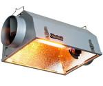 ODBŁYŚNIK WENTYLOWANY HYDROFARM PHANTOM DOUBLE ENDED 55x30xh20cm fi 150mm