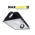 ODBŁYŚNIK WENTYLOWANY - MAXLIGHT, 60,5x48xh21,5cm, PRZYŁĄCZE fi-150mm, SOLIDNA OBUDOWA Z TWORZYWA