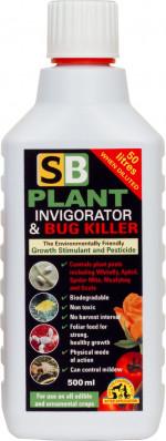 SB Plant Invigorator & Bug Killer - koncentrat owadobójczy + stymulator wzrostu 500ml
