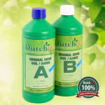 Soil Grow A+B WODA MIĘKKA 1+1L AUTOFLO Dutch Pro