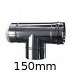 Trójnik metalowy ocynkowany fi 150mm