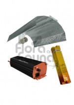 ZESTAW HPS 400W, ELEKTRONICZNY, DO UPRAWY ROŚLIN, GIB NXE + STUCCO 40x40 + ELEKTROX SUPER BLOOM (kwi