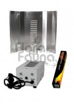 ZESTAW HPS 400W, PÓŁ-ELEKTRONICZNY, DO UPRAWY ROŚLIN, XTRASUN + ELEKTROX LUSTRO + PHYTOLITE BLOOM (k