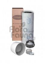 ZESTAW WENTYLACYJNY ECO 100m3/h DO BOXA 40x40x120cm (0,16m2), CAN-FILTER PLAST. + WENTYLATOR EURO 1